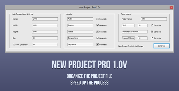 New Project Pro 1.0v