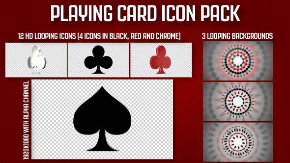 Playing Card Icon Pack
