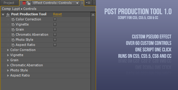 Post Production Tool 1.0v