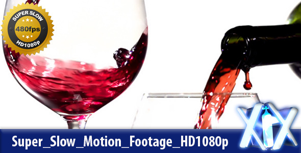 Pouring Red Wine 480fps