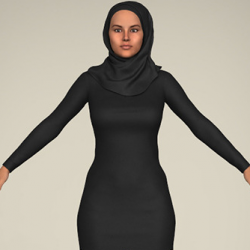 Realistic Islamic Woman