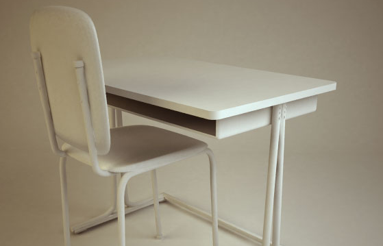 School Chair & Desk