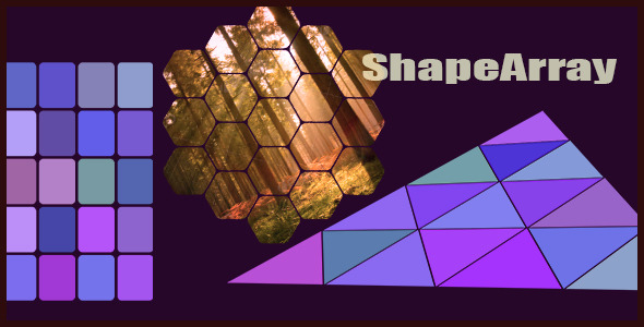 Shape Array Creater
