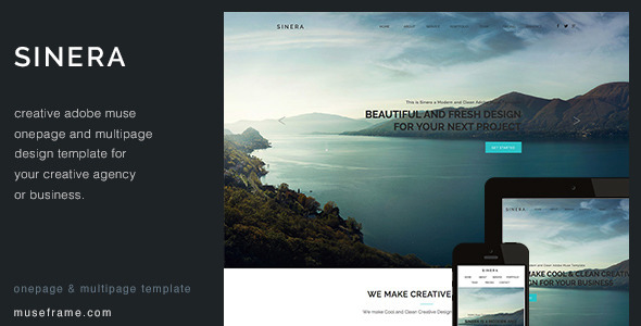 32 best adobe muse photography portfolio templates weelii sinera creative muse template pronofoot35fo Images