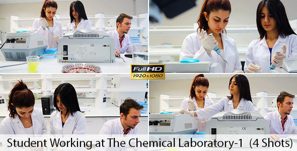 Students Working in Lab 1