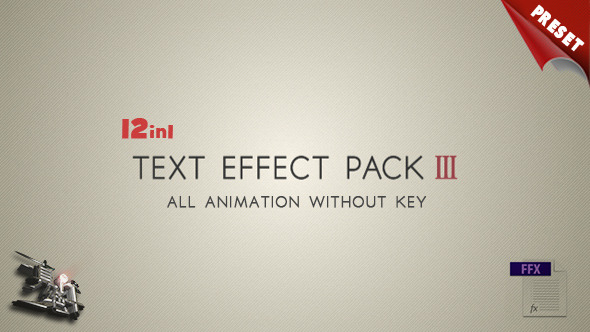 Text FX Pack III