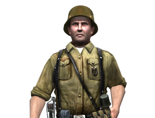 WWII German Soldier