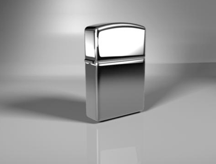 Zippo Lighter (with Studio Lighting)