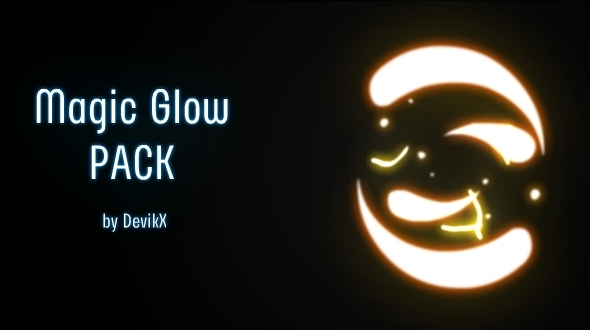 3 Magic Glow Animations