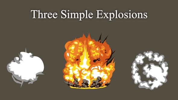 3 Simple Explosions