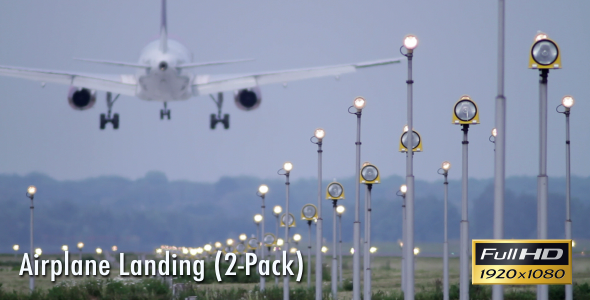 Airplane Landing (2-Pack)