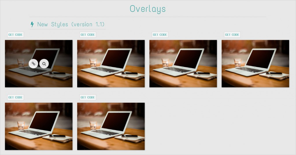 Animatia CSS Image Hover Effects