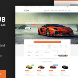 Auto Club Car Dealer Theme