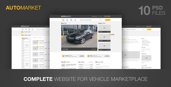 AutoMarket Vehicle Marketplace