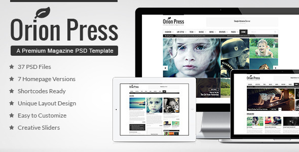 AutoZ Multipurpose Corporate PSD Template