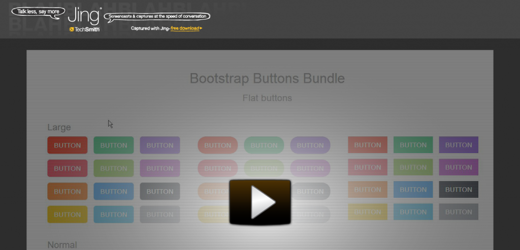 Bootstrap Buttons Bundle