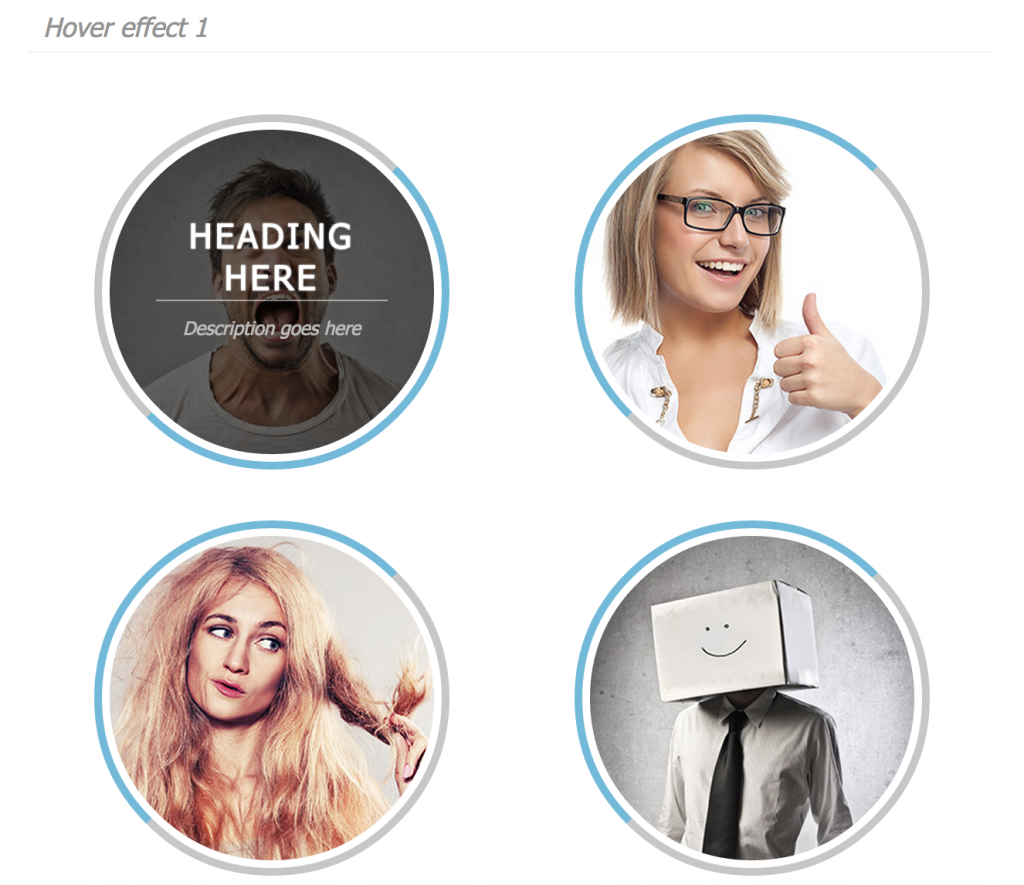 CSS3 Hover Effects