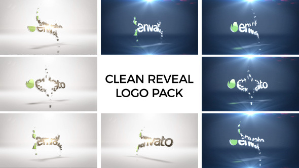 Clean Logo Reveal Pack