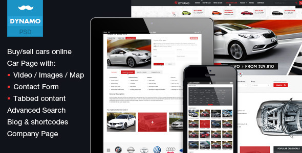 Dynamo Sell Buy Rent Cars Online PSD
