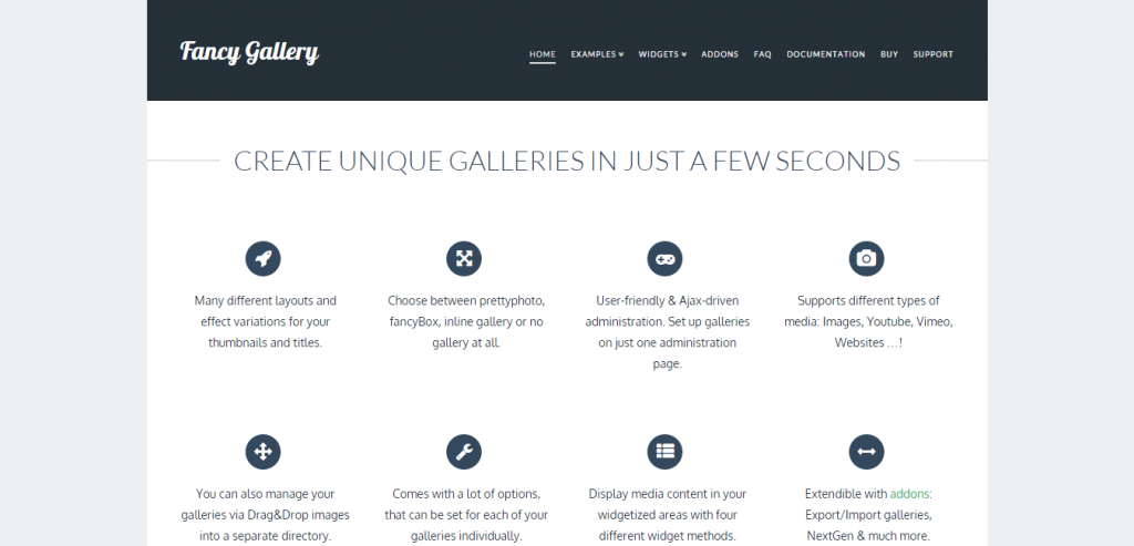 Fancy Gallery WordPress plugin