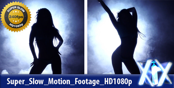 Female Dancer In Action 240fps