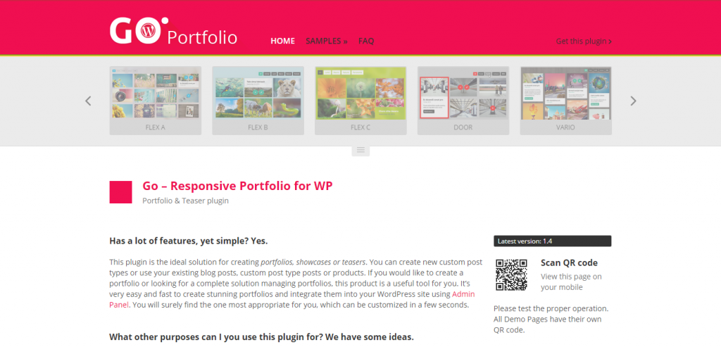 Go Responsive Portfolio for WP