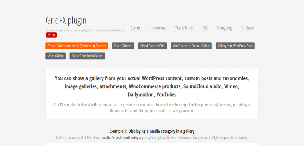Grid FX Responsive Grid Plugin for WordPress