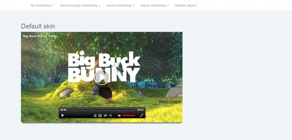 HTML5 Video Player & Advertising WP plugin