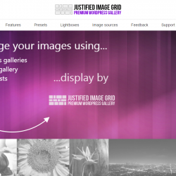 Justified Image Grid Premium WordPress Gallery