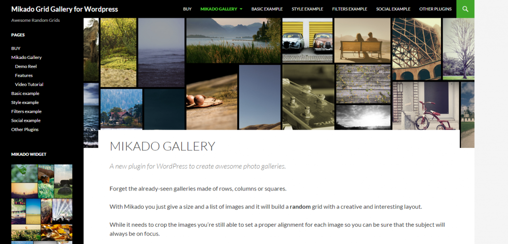 Mikado Image Gallery for WordPress