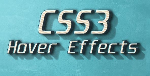 Pure CSS3 Hover Effects Pack