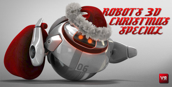 Robots 3D christmas special