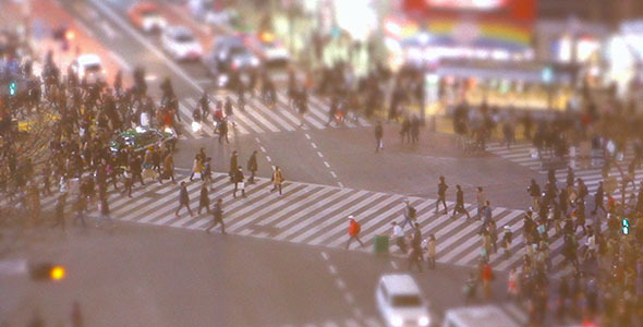 Shibuya Crossing (Japan)