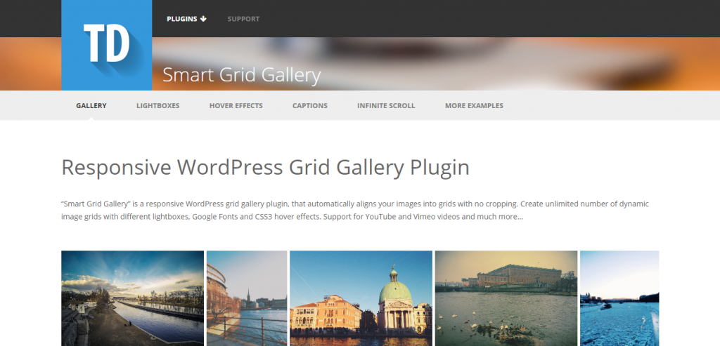 Smart Grid Gallery Responsive WP Gallery Plugin