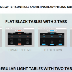 Swithcer All in One Switch Controll Pricing Table
