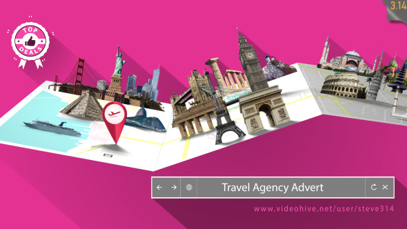 Travel Agency Advert