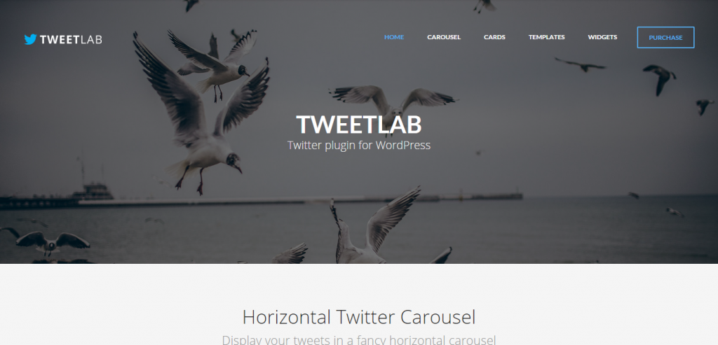 Tweetlab Twitter slider & Usercard for WordPress