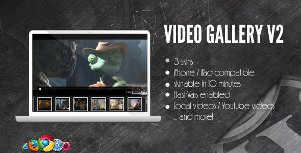 Video Gallery WordPress Plugin w YouTube, Vimeo