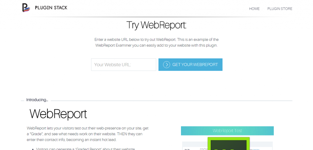 WebReport Website Analytics Explorer for WordPress