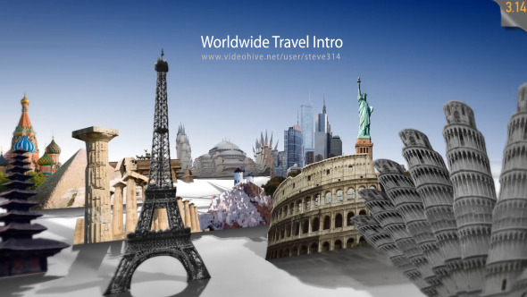 Worldwide Travel Intro Show