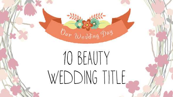10 Beauty Wedding Titles