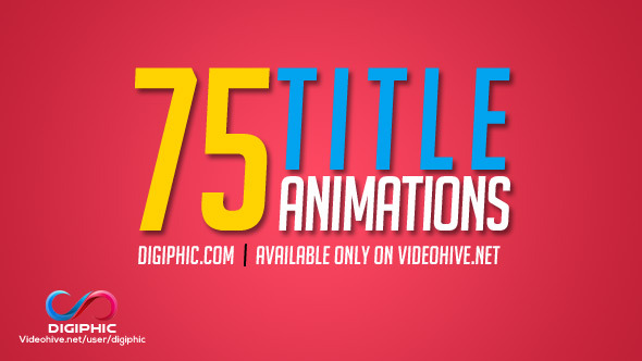 75 Title Animations