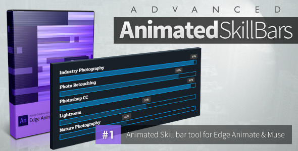 Advanced Animated Skill Bars