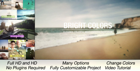 Bright Colors Multi Purpose Slideshow
