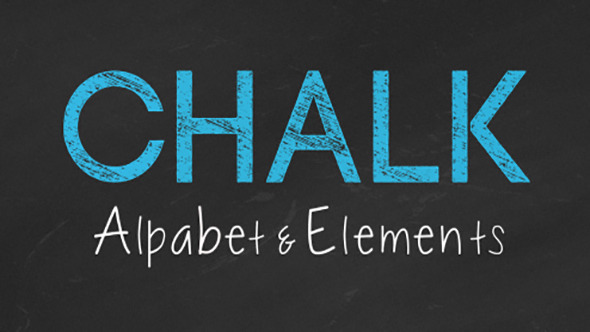 Chalk Alphabet and Elements