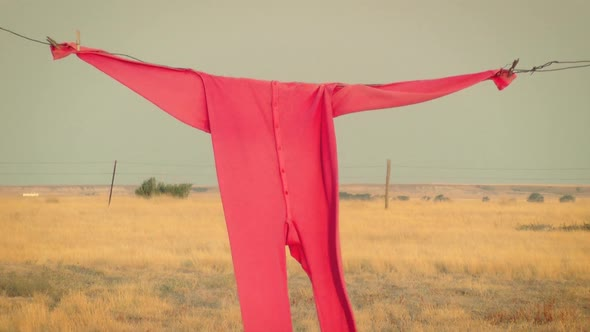 Clothesline And Red Long Johns 2