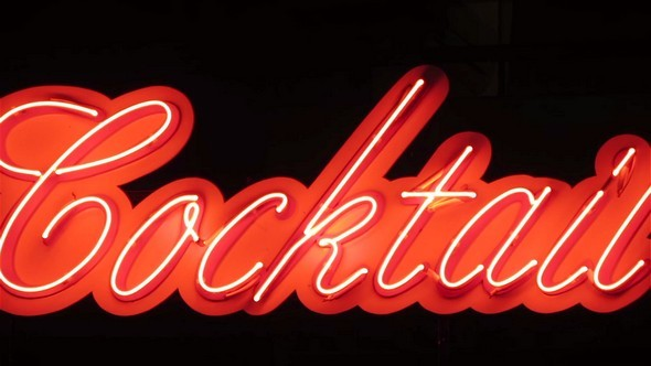 Cocktail Bar Neon Sign