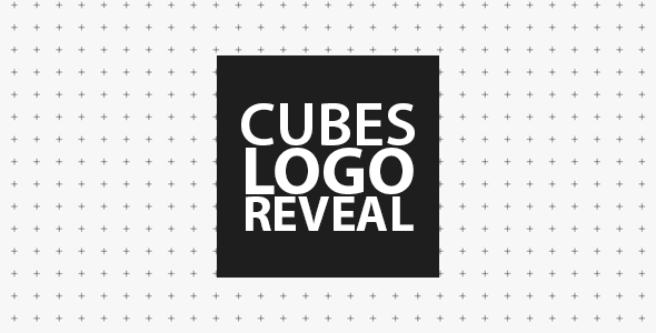 Cubes Logo Reveal