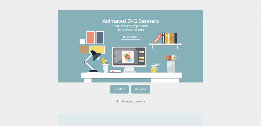 Flat Design Desk Banners