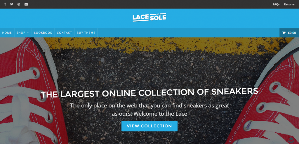 Lace and Sole Layers WooCommerce Theme